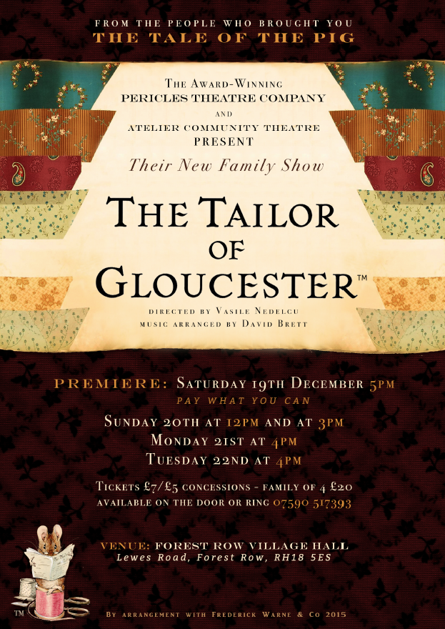 Tailor of Gloucester Poster