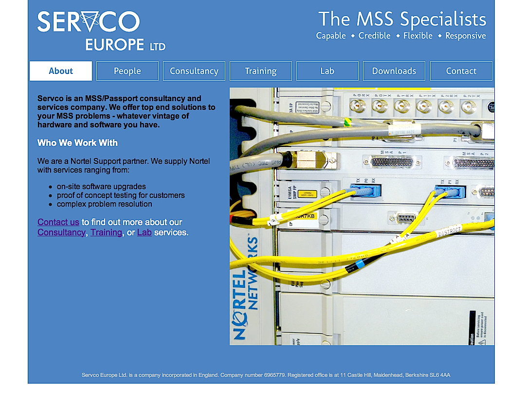 Servco's New Website