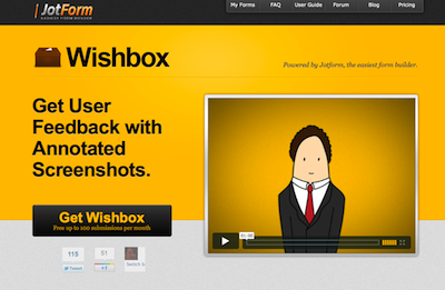 Wishbox widget