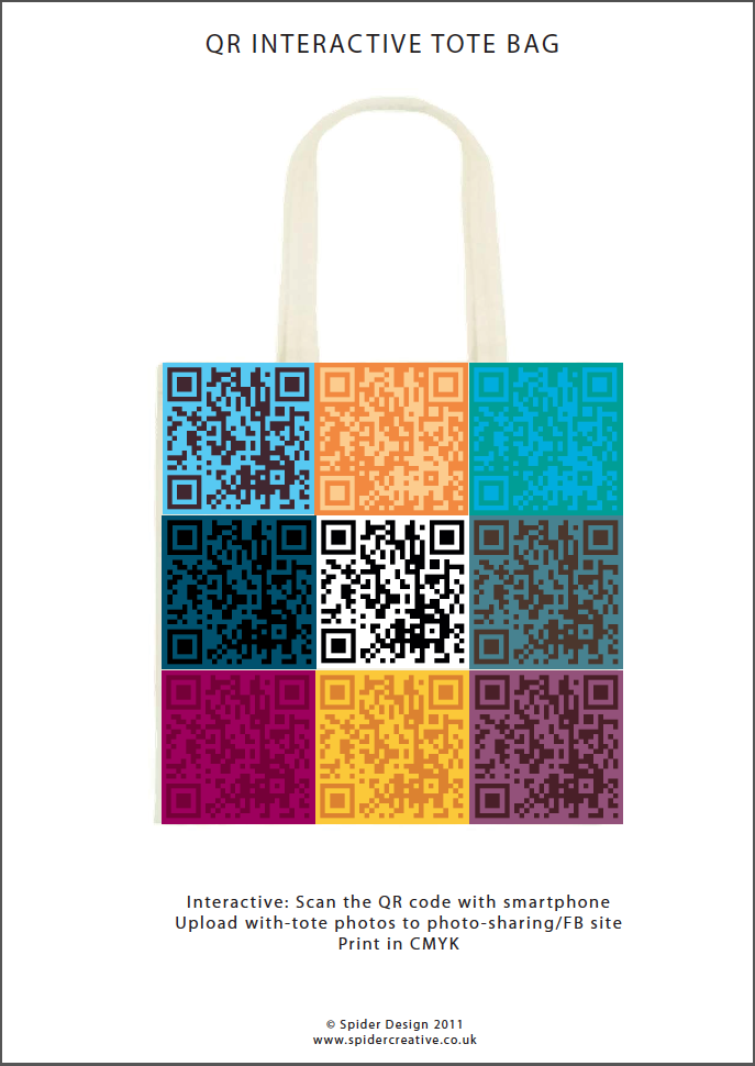 Tote bag design for Harvey Nichols competition