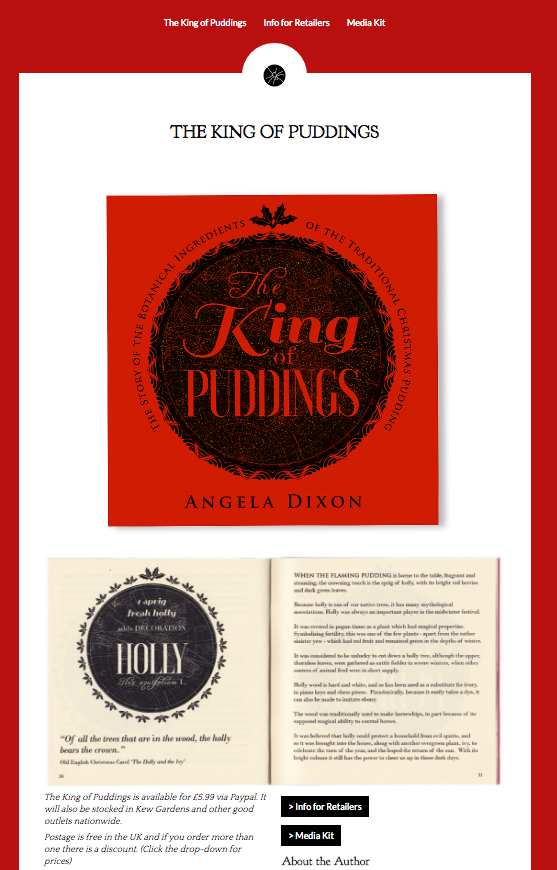 King of Puddings website